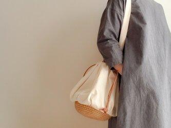 Drawstring bag Cotton【受注制作】の画像