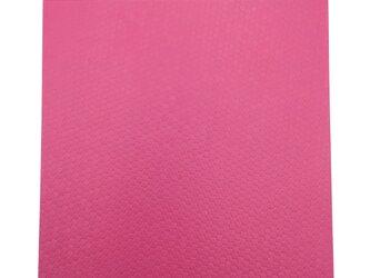 本革はぎれ スパンコール型押し ピンクの画像