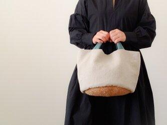 はるいろミント tote Linen Ⅼの画像