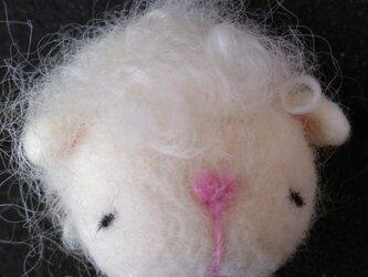 フェルトの猫の画像