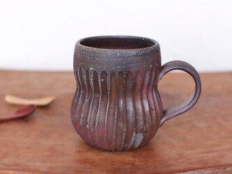 備前焼 コーヒーカップ(鎬) c11-013の画像