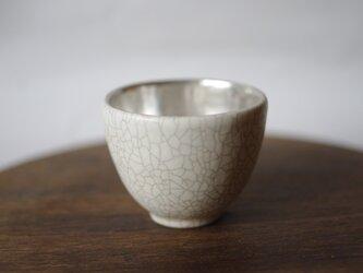 茶杯 白×銀彩 谷井直人の画像