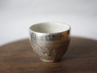 茶杯 銀彩×ビードロ 谷井直人の画像