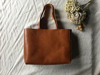 【限定品】『tosca』 革袋 chestnuts brown M2 肩掛けの画像