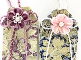元巫女の花のお守り袋(恋花)の画像