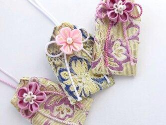 (恋花)元巫女の花のお守り袋の画像