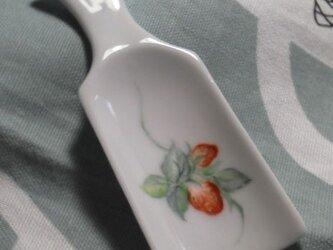 イチゴの茶さじの画像