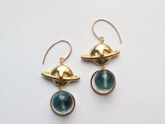 メランコリアと青い石~土星のピアス~の画像