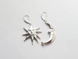 <SV925> Luna&Stella pierce/earringの画像