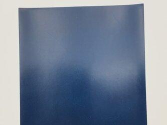 本革はぎれ ピットヌメ ブルーの画像