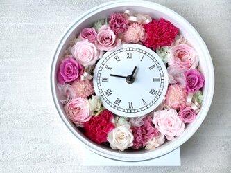 花時計 キュートピンクの画像