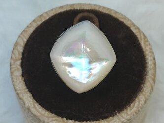 マザーオブパールリング diamondの画像