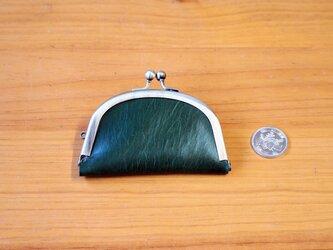がまぐち スリムコインケース(M) No.259 栃木レザーグリーンの画像