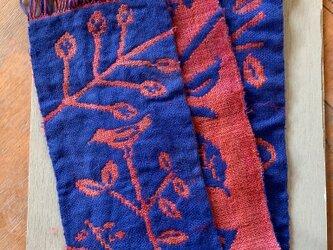 織 : 楽しい葉陰の画像