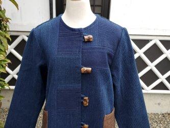 着物リメイク 手作り 剣道着 ジャケットの画像