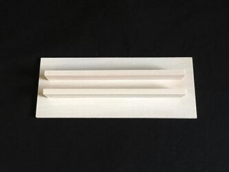 切り絵フレーム用スタンド M ホワイトの画像