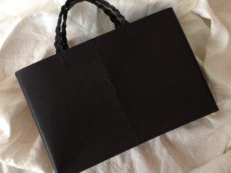トートバッグ 黒の画像