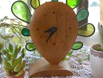 サボテンの時計の画像
