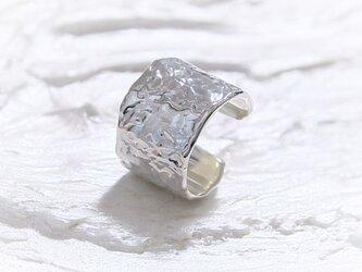 Icy ear cuff テクスチャーイヤーカフ silver925の画像