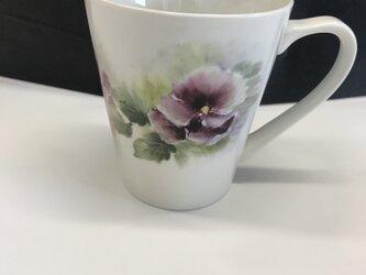 アメリカンチャイナペイント マグカップの画像
