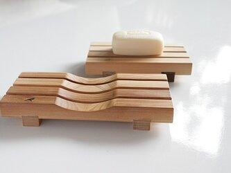 『きぬ様ご依頼品』石鹸置き yue -湯坐-(L) 【表面:フラット面】の画像