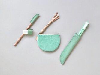 suzumeno pouch (menta)の画像