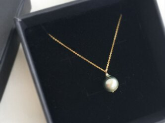 【K14GF】Tahitian Baroque Pearl Necklaceの画像