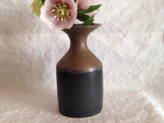 花器(黒×ブロンズ)の画像