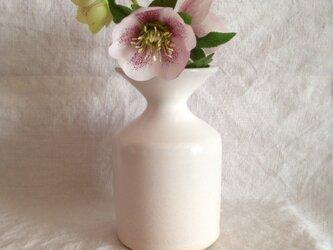 花器(アンティークホワイト)の画像