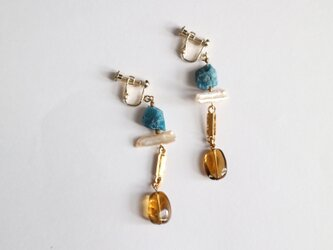 Ancient jewelry style earring(pierce)の画像