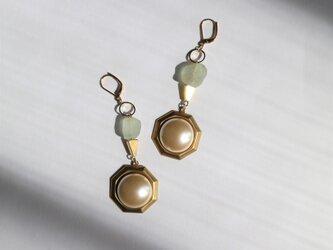 Art Deco Illumination pierce(earring)の画像