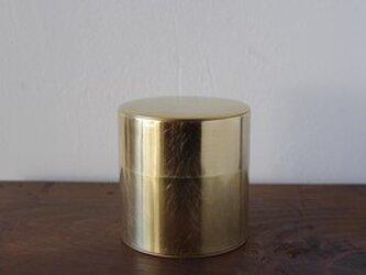 丸缶(真鍮)の画像