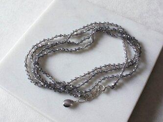 No. 109 グレームーンストーンのネックレスの画像