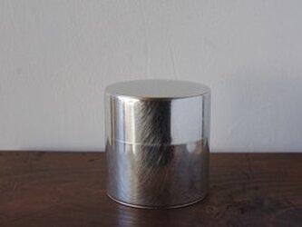丸缶(ブリキ)の画像
