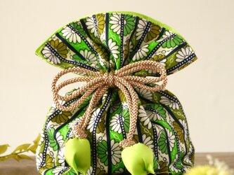 再販 着物 巾着 菊文 幸せを呼ぶFUGURO の画像
