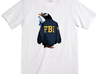 [Tシャツ] FBI penguinの画像