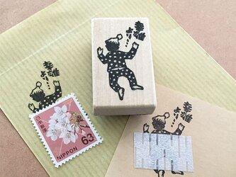 名入れはんこ 切手ケット(うつぶせ)の画像