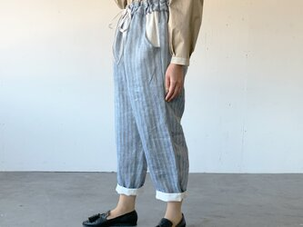 Vacances pants[blue stripe]の画像