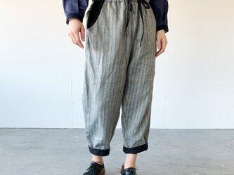 Vacances pants[black stripe]の画像
