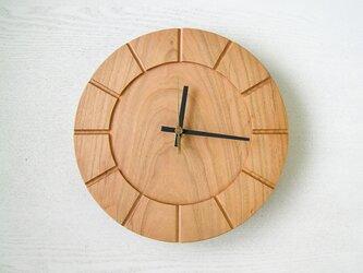 木の時計01(Φ240) No19 | 山桜の画像