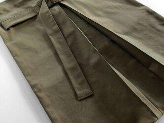 Hole Tack - tote bag - Khakiの画像