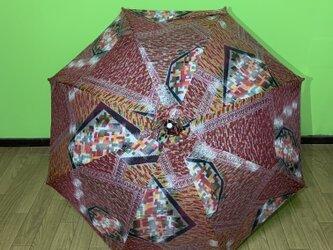 日傘 de 着物 乙女の画像