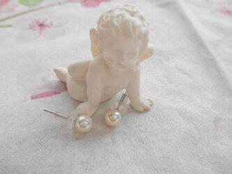 EP9364あこや真珠ピアスの画像