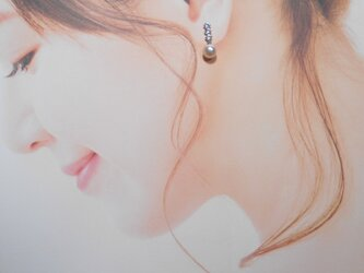EP9338あこや真珠ピアスの画像