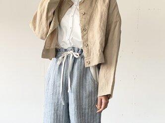 asabukuro jacket [beige]の画像