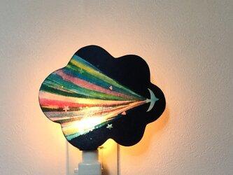 **ナイトランプ ☆。「虹の風」の画像