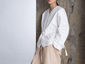 Hole Tuck - Shirt - Off Whiteの画像