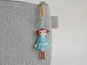ファスナーチャーム [コニー] ビーズドール・マスコット・人形の画像