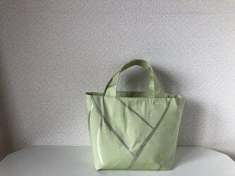 帯バッグ〜ペパーミントグリーン〜の画像