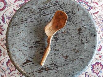 ウッドクラフト 栗の木(チェスナッツ )のスプーン #16の画像